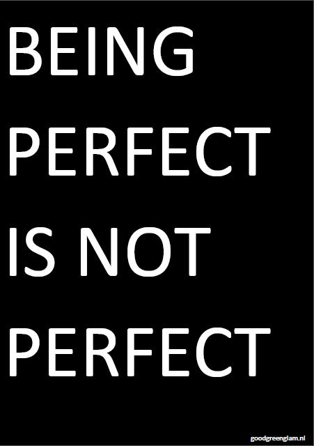 beingperfectisnotperfect
